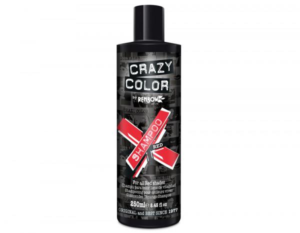 Crazy Color shampoo, red