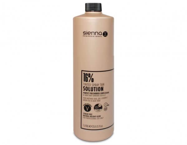 Sienna X 16% spray tan solution 1L