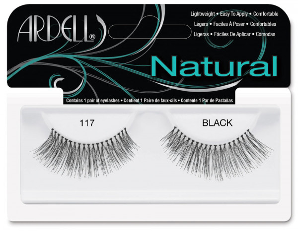 Ardell natural lashes black, 117