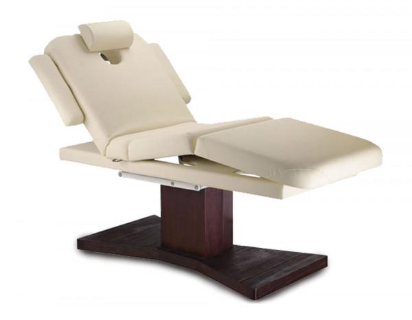 Esthetix luxury spa electric couch, cream