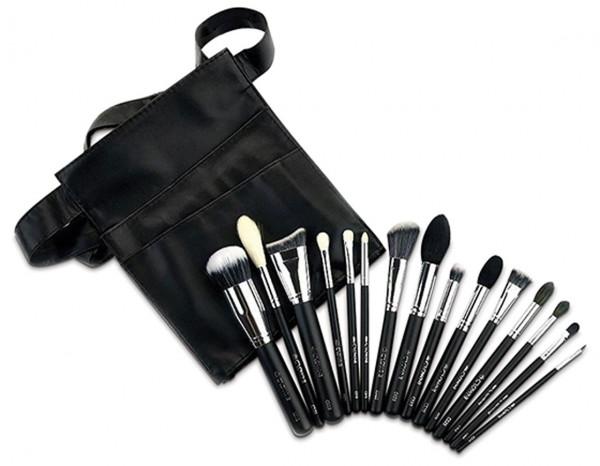 Crownbrush 901 pro brush set, 15 pcs