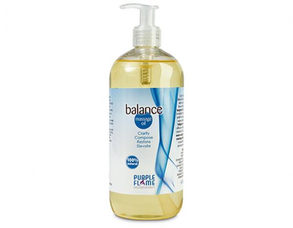 Purple Flame massage oil, balance 500ml
