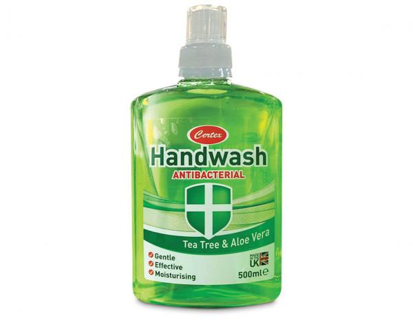 Antibacterial hand wash refill tea tree 500ml