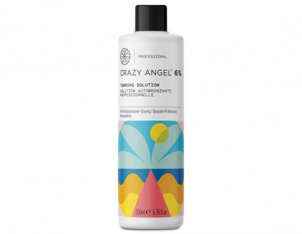 Crazy Angel tanning solution 6% DHA 200ml