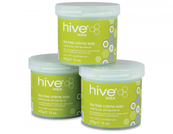 Hive tea tree wax 425g, 3 for 2 pack