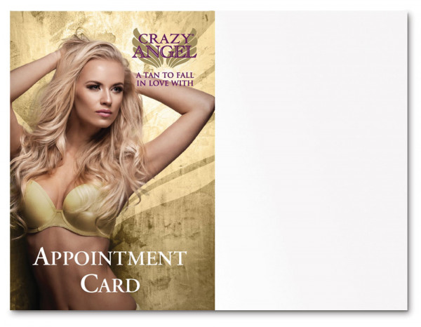 Crazy Angel salon appointment cards (25)