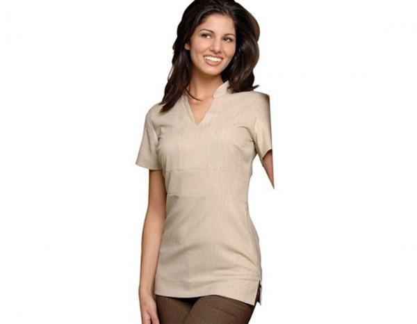 Cara tunic linen look, beige size 6