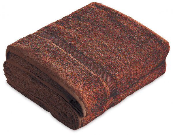 Sumptuous bath sheet XL, brown