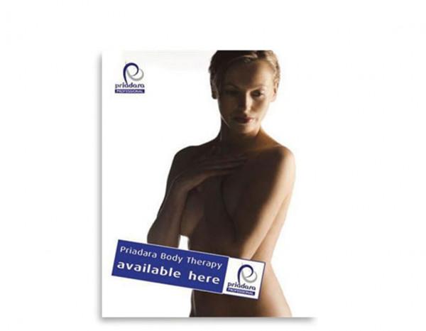 Priadara poster, body therapy A2