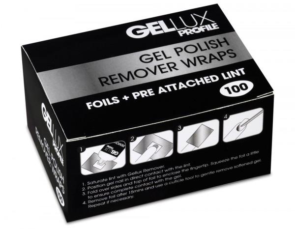 Gellux remover wraps (100)