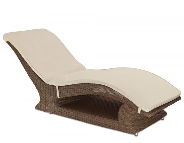 San Marino raised sun lounger with cushion