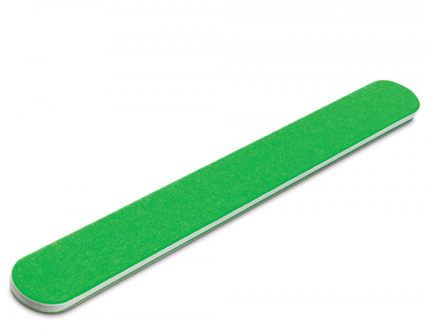 The Edge neon nail file 240/240 grit, green