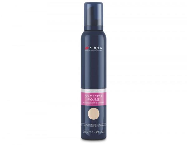 Indola Color Style mousse, medium blonde 200ml