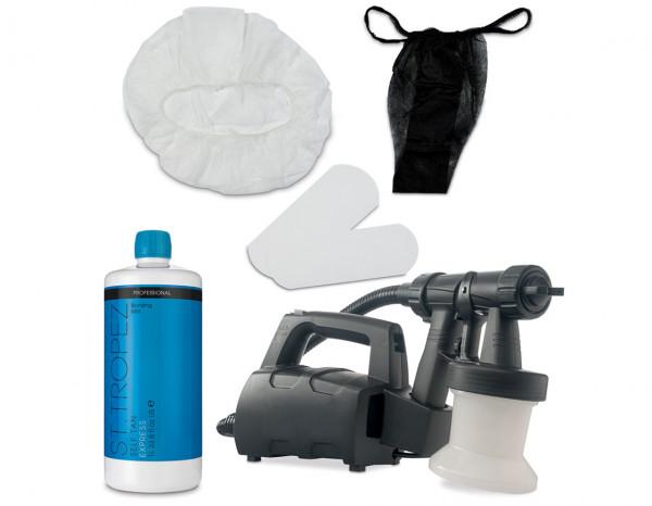Esthetix Aura elite compact spray tan kit, St.Tropez express mist