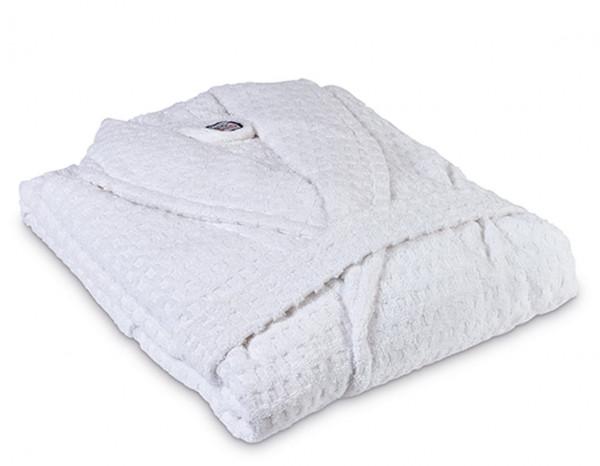 Healthy bathrobe XXL, white