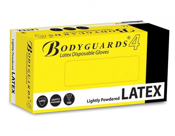 Latex gloves standard large (100)