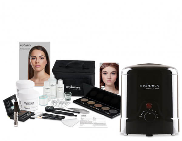 Mybrows kit with heater