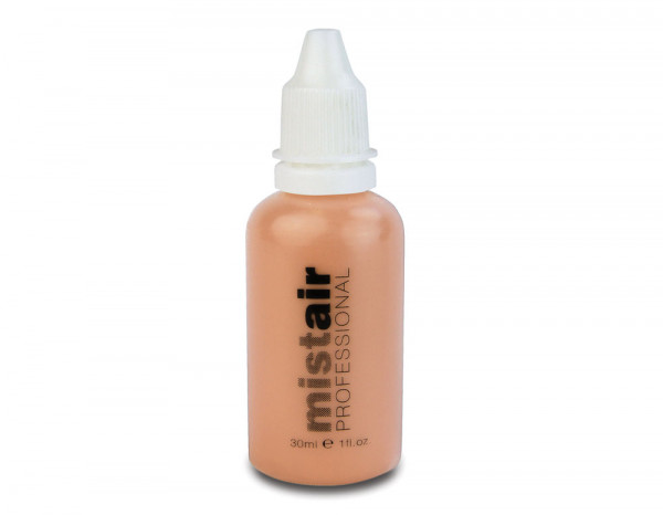 Mistair professional foundation, almost peach 30ml