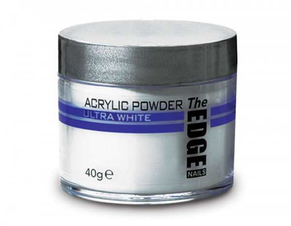 The Edge acrylic powder 40g, ultra white