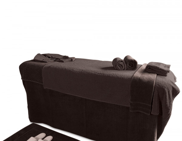 Treatment bed makeover kit without face hole brown