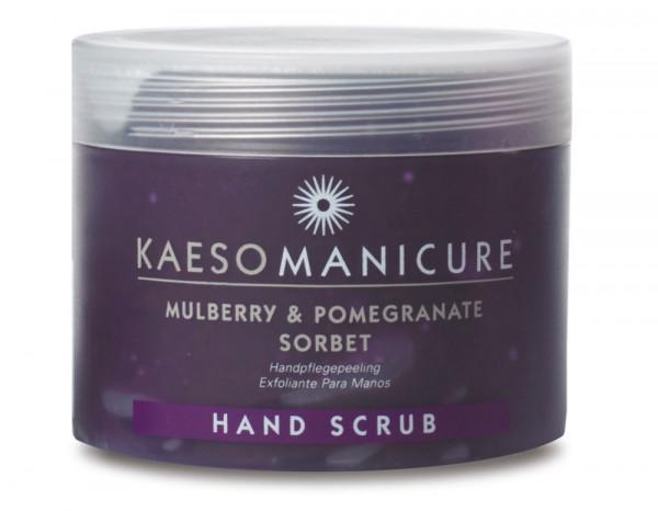 Kaeso mulberry/pomegranate sorbet hand scrub 95ml