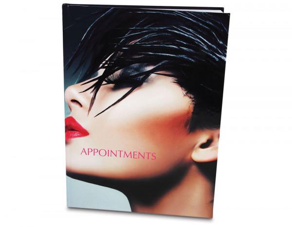 Appointment book 6 column, dark