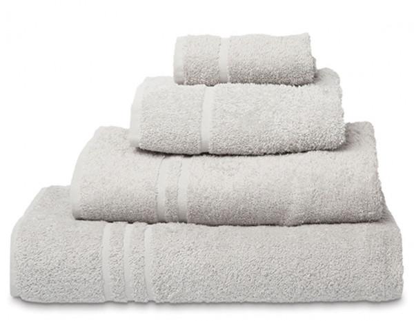 Comfy hand towel, silver grey