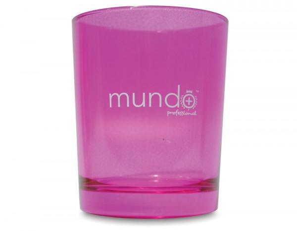 Mundo disinfectant jar large pink 90mm