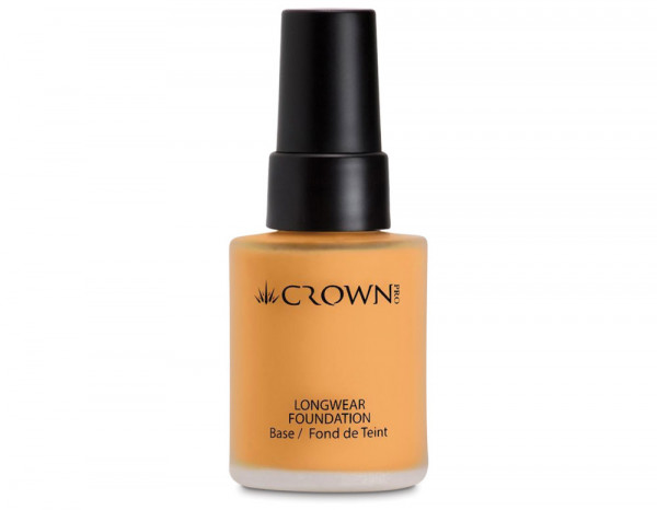 Crownbrush longwear foundation, PFK1-3 beige
