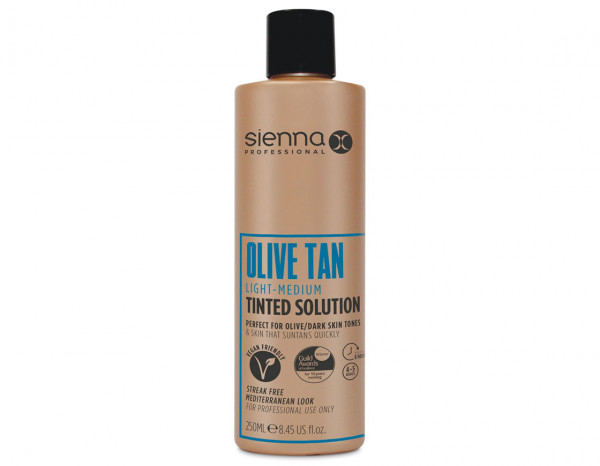 Sienna X olive spray tan 250ml, light to medium