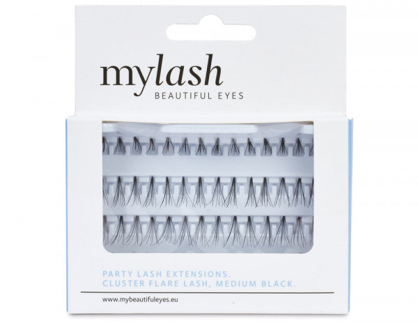 Mylash flare lashes medium, black