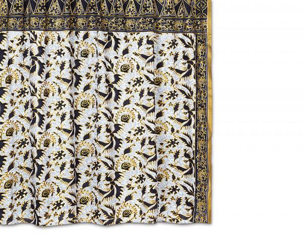 Batik sarong, grey bird