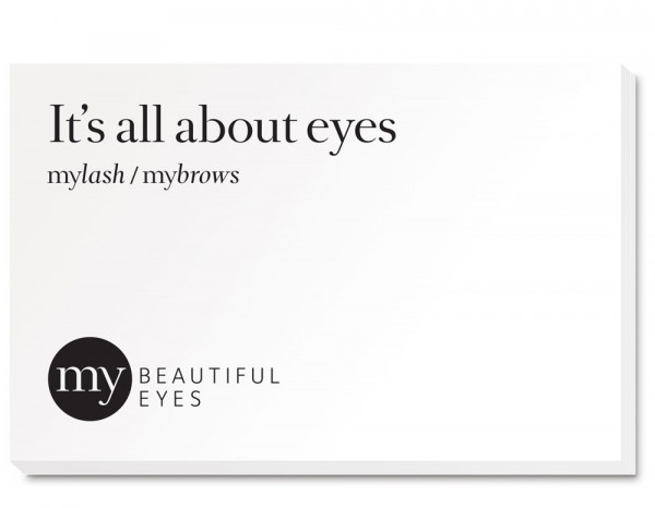 My Beautiful Eyes appointment cards (50)