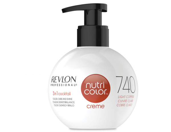 Nutri color creme 270ml, 740 light copper