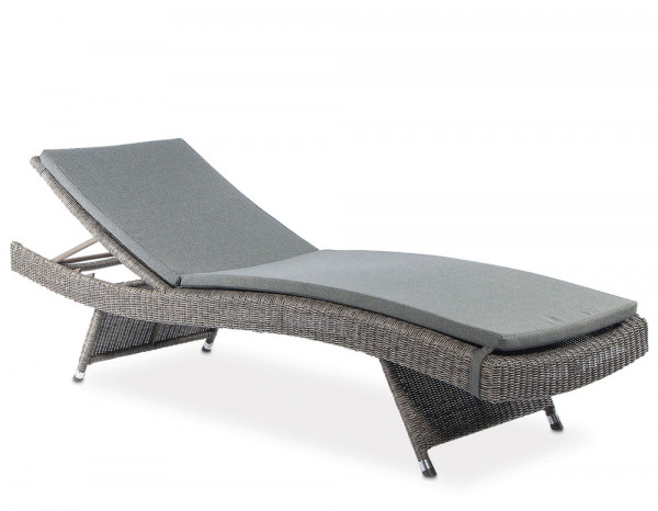 Monte Carlo adjustable sunbed with cushion