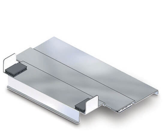 Hot cabi joint plate