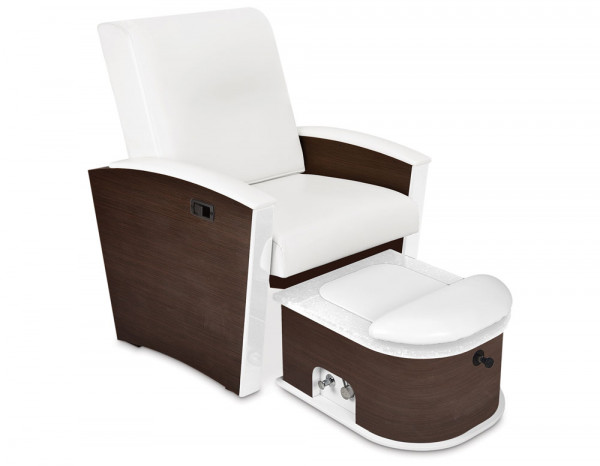 Mystia luxury manicure/pedicure chair, plumbed