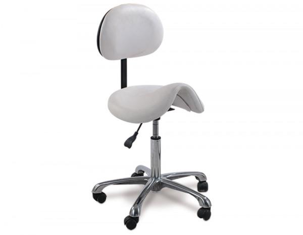 Deluxe pony stool, white