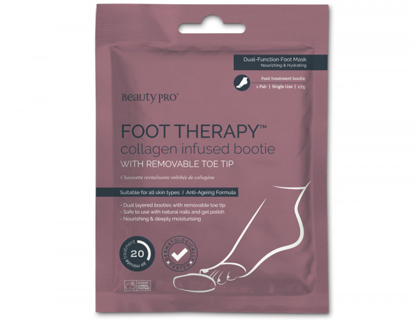 BeautyPro foot therapy collagen bootie