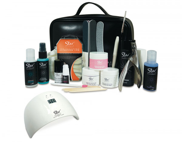 Star Nails builder gel kit with lamp