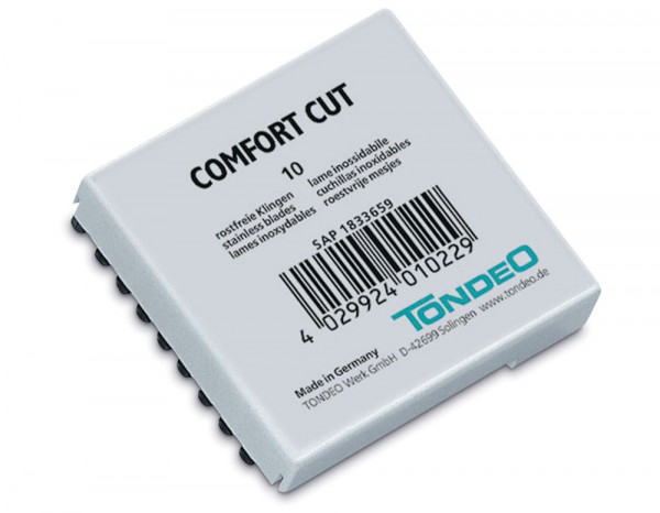 Tondeo comfort cut razor replacement blades (10)