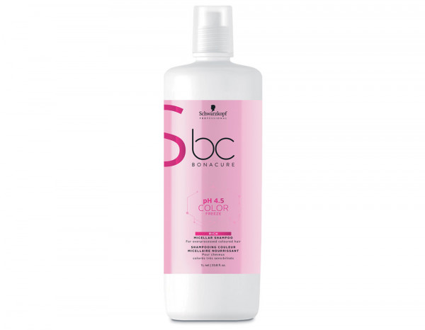 BC pH4.5 color micellar rich shampoo 1L