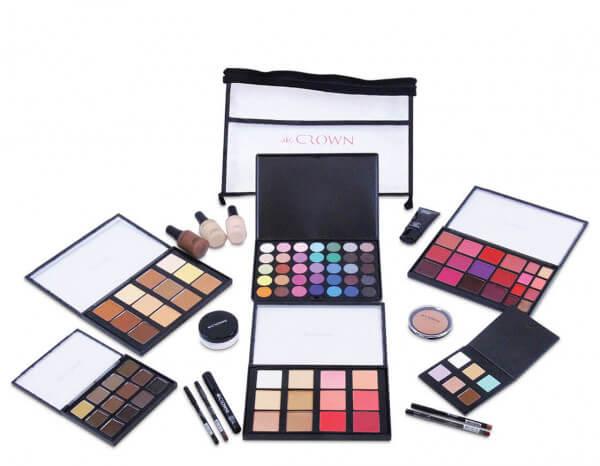Crownbrush make-up kit 2020