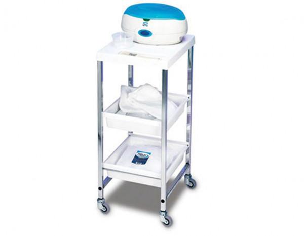 Wax Master paraffin wax bath trolley