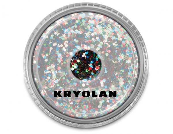 Polyester large particle glitter 4g, multi