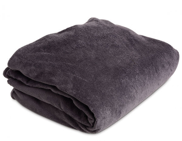 SupremeSoft couch cover, Slate Grey