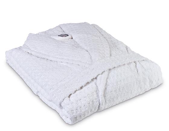 Healthy bathrobe medium, white