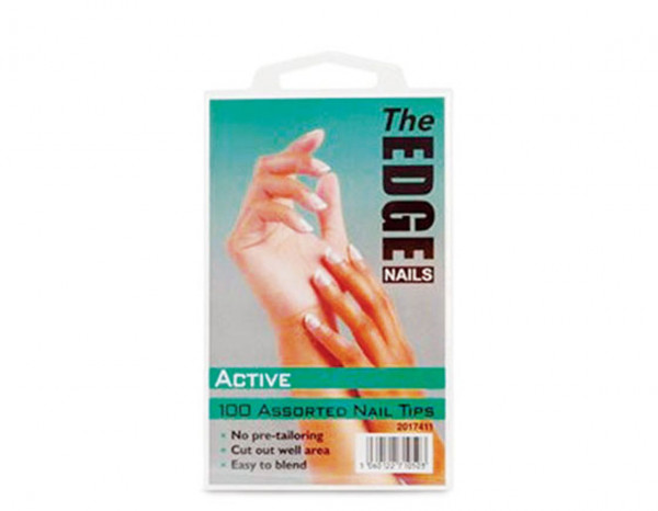 The Edge active tips, assorted (100)