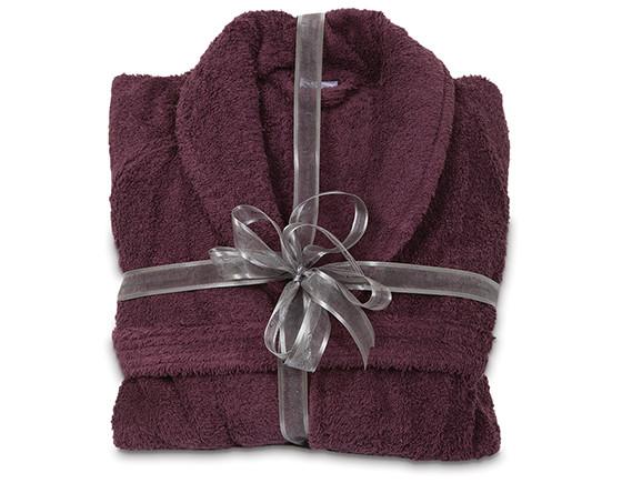 Comfy bathrobe XL, aubergine