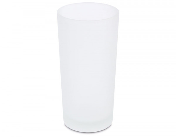 Rechargeable candles frosted holders, white (12)